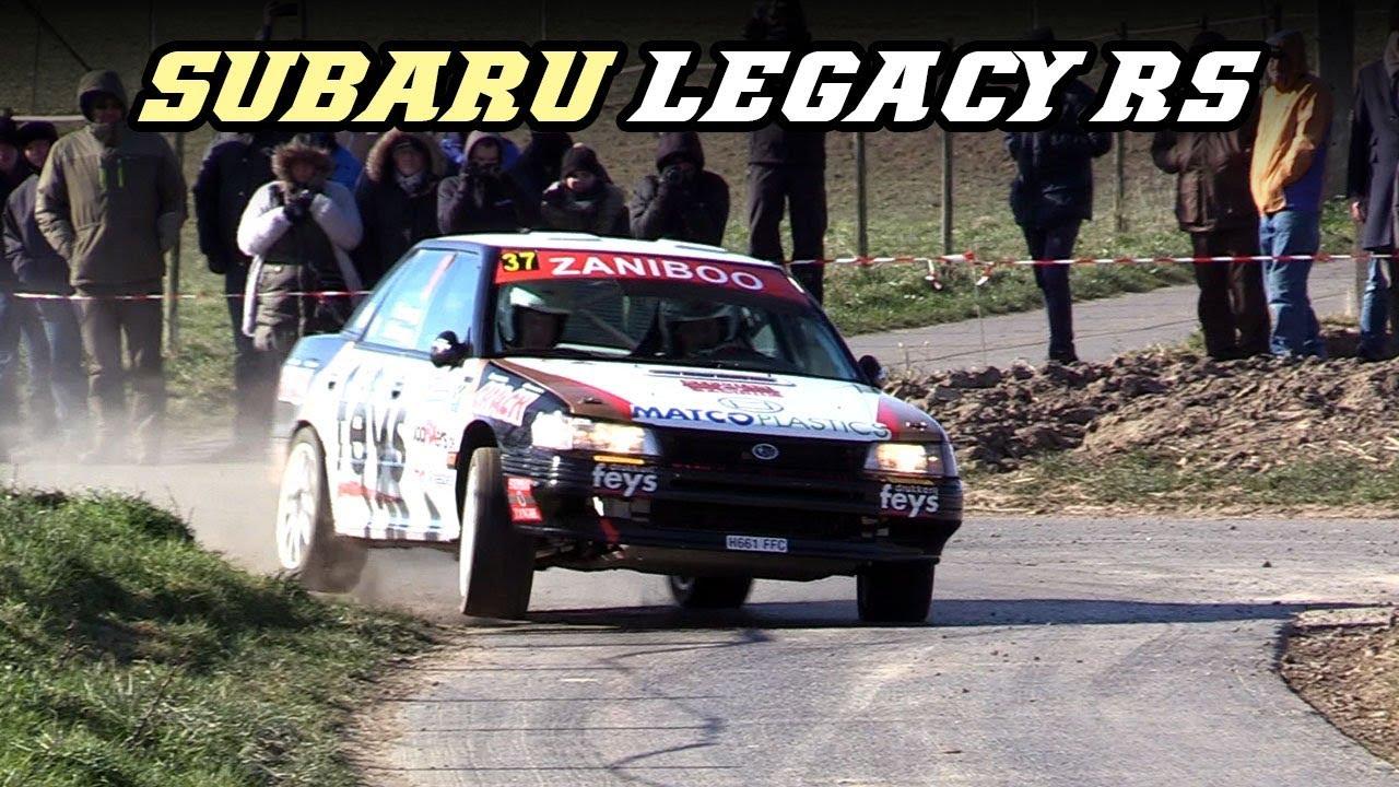 Subaru Legacy Rs Flat 4 Rumble Youtube