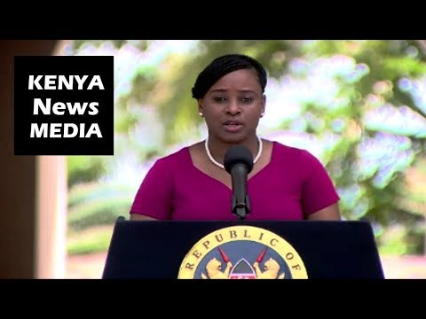 Kanze Dena BRIEFING Ahead Of President Uhuru Kenyatta VISIT To MOMBASA Next Week!!!
