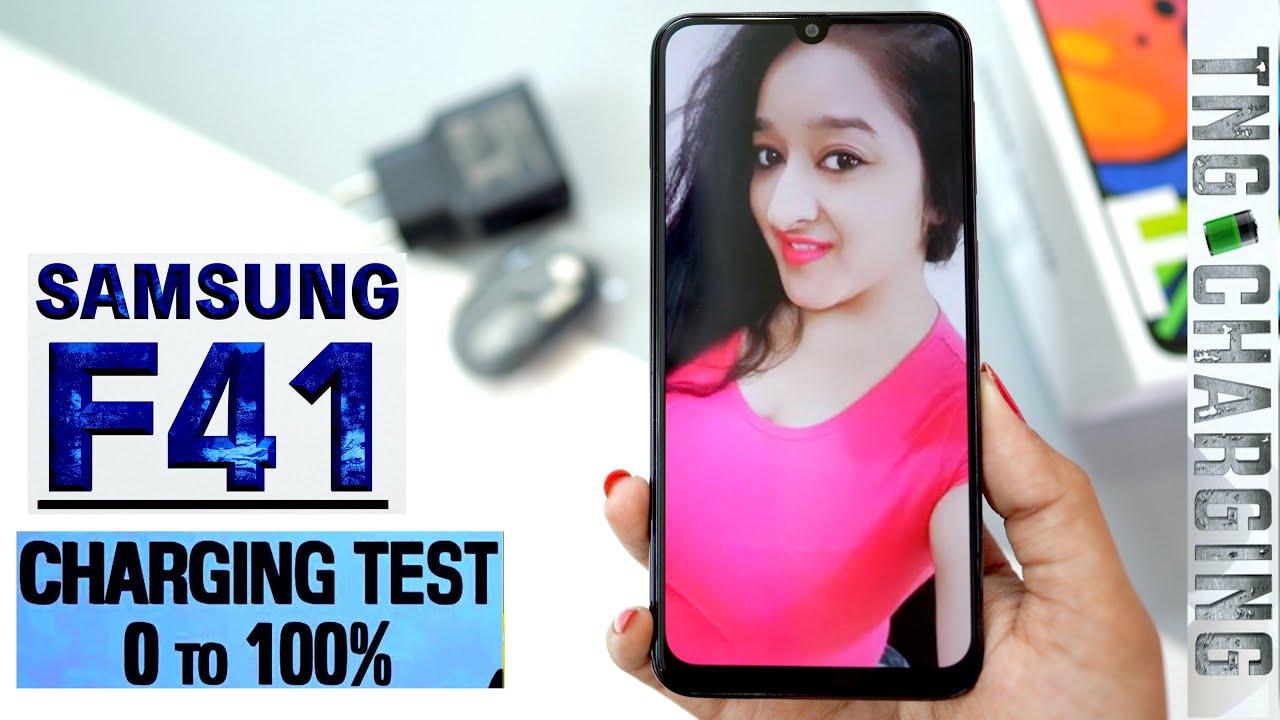 Samsung Galaxy F41 - Charging Test (0%-100%)