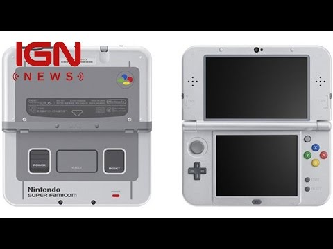 The Next New 3DS XL Looks Like a Classic Console - IGN News