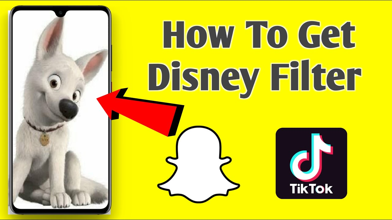 How To Get The Disney Dog Filter On Snapchat Disney Dog Filter Tiktok Disney Dog Snapchat Youtube