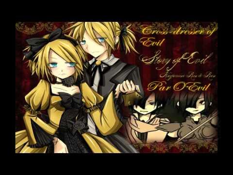 ENGLISH .:. Cross-Dresser of Evil【悪ノ召使 / Servant of Evil Parody】+ MP3