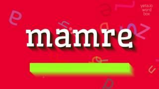 Download lagu How to saymamre MP3