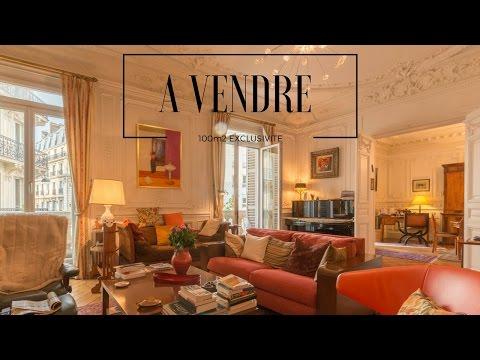 Paris 75009 Vente appartement 101m2 avec 2 chambres en Exclusivité