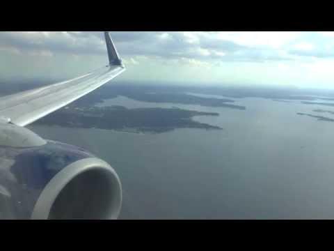 Delta Air Lines Boeing 737-900ER Landing at New York LaGuardia Airport!