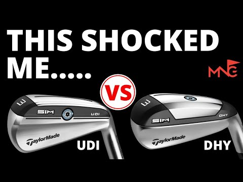 That Surprised Me!! TaylorMade SIM UDI & SIM DHY Utility Iron