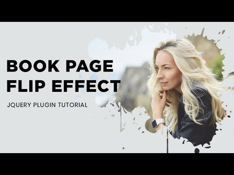 Awesome Book Page Flip Effect With Turn js   Jquery Plugin Tutorial