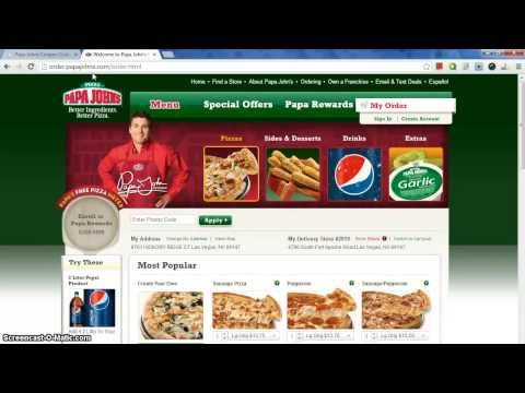 Free Papa Johns Coupons [UPDATED 2013]