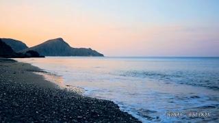 Музыка для Души Море светает музыка волны берег камни морской бриз природа.