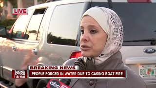 Casino boat fire