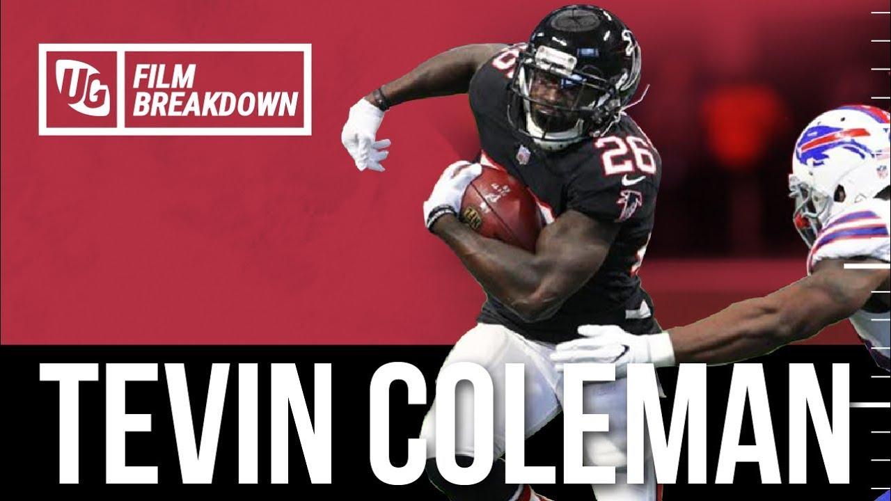 Tevin Coleman Breakdown vs Buffalo