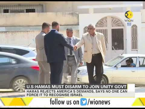 U.S: Hamas must disarm to join Palestinian Unity Government