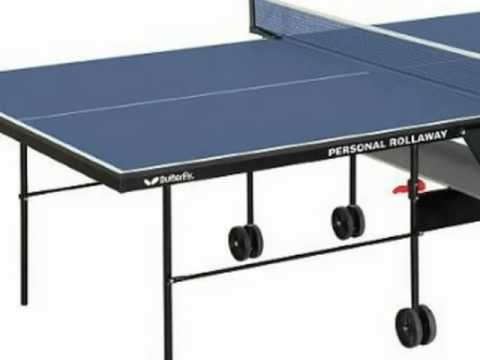 Butterfly TR16 Home Rollaway Table Tennis Table quick review