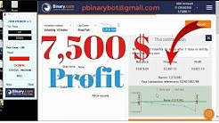 Explosive Binary.com Bot - Pick Ticket Robot | From $37 to $7,500 | Unconventional Epic Robot