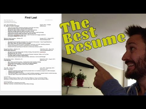 Best Resume Template