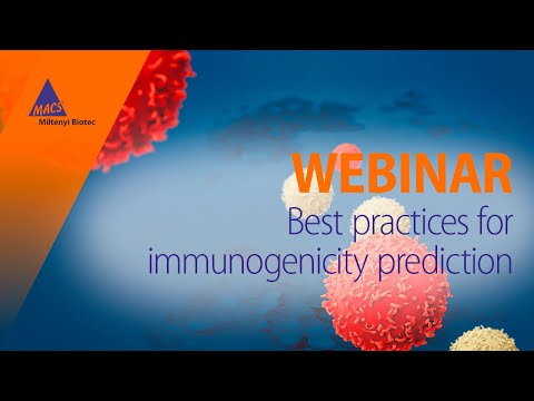 Accelerate Your Biologics Discovery With Immunogenicity Prediction [WEBINAR]