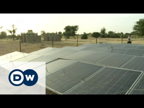 Malian village transformed by solar power | DW News
