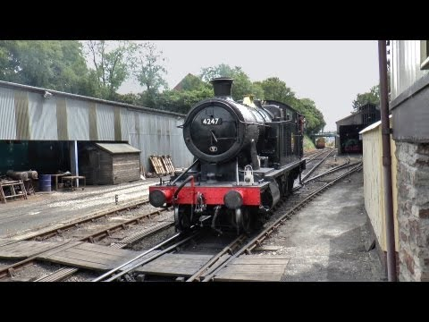 Steam in Cornwall July 2013