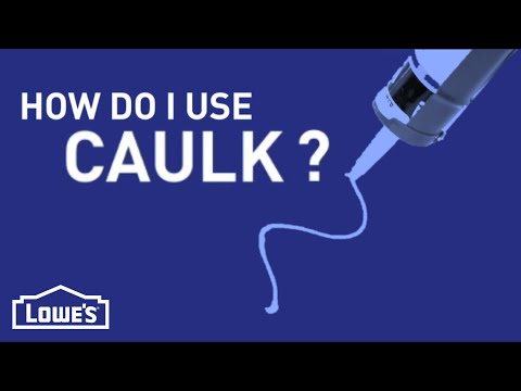 How Do I Use Caulk? | DIY Basics