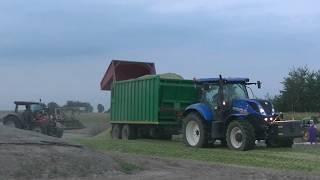 9 Ciągników i Dwie Sieczkarnie Akcja Kukurydza 2018