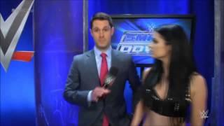 Paige slaps Tom Phillips