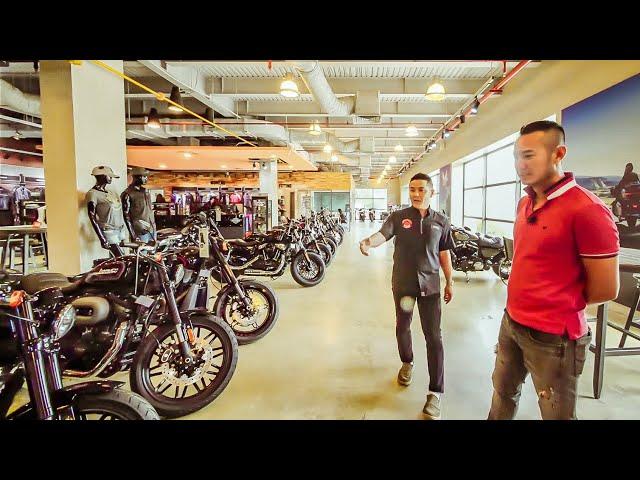 Lại phải đi mua xe Harley Davidson ở Mý | XE HAY