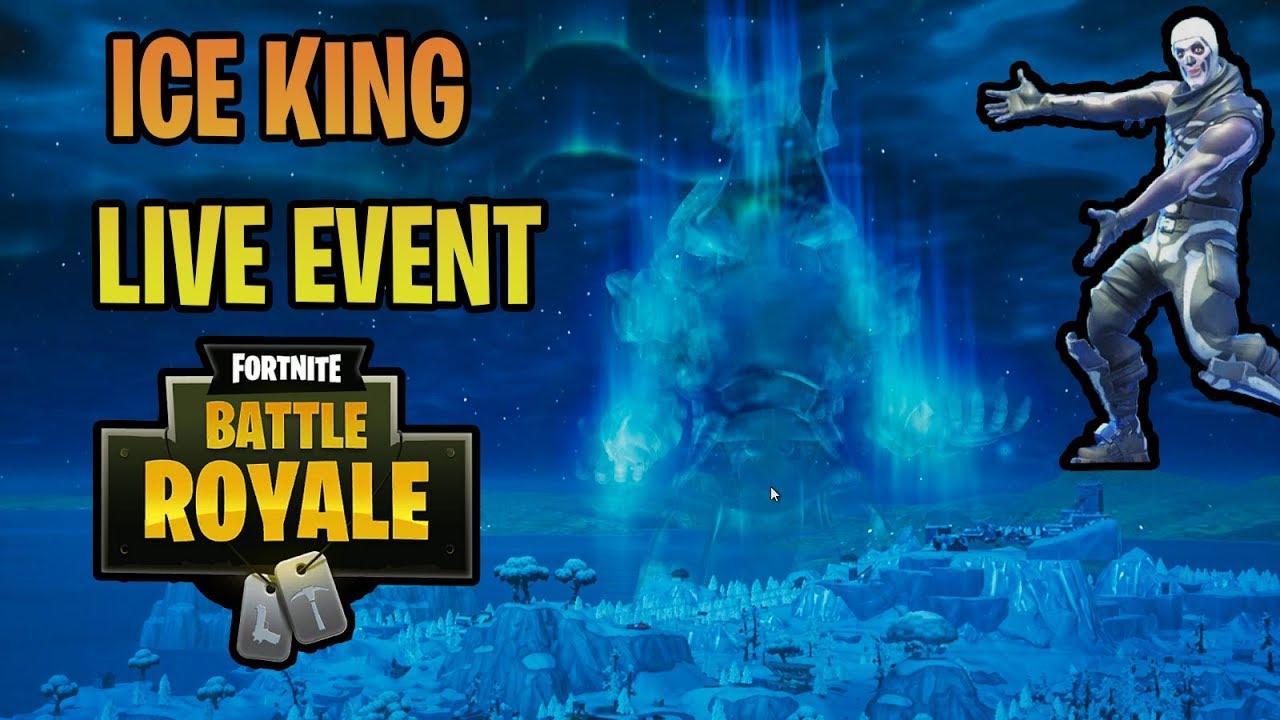 fortnite ice king live event season 7 battle royale - when is the next fortnite live event season 7
