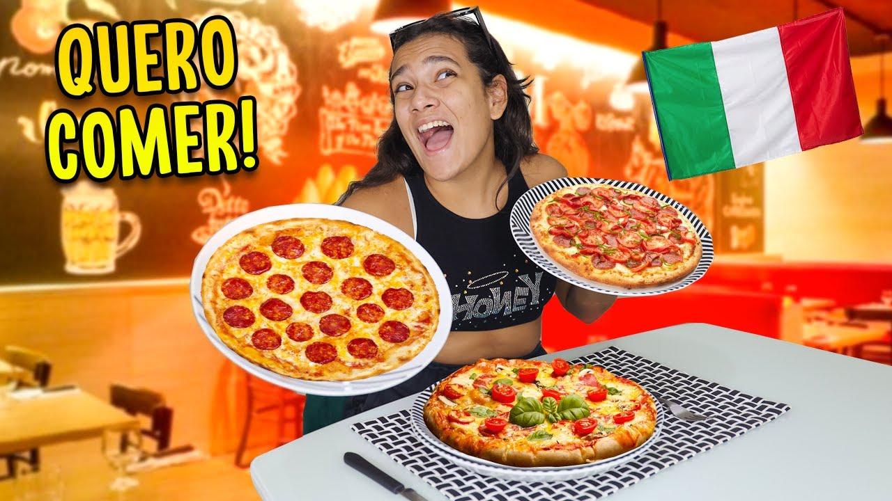 RODÍZIO DE PIZZA! - JULIANA BALTAR #SHORTS