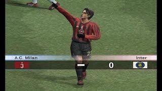 Pro Evolution Soccer 4 - 2004 - A.C. Milan  VS  Inter Milan  (PC)