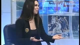 Хоккей.Татьяна Ткаченко-президент ЖХК Королевы Днепра-гость программы Спортивная Неделя