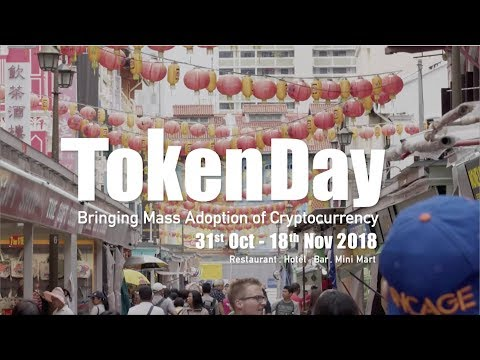 Token Day | 30 merchants in Chinatown Singapore NOW accepts Cryptocurrency
