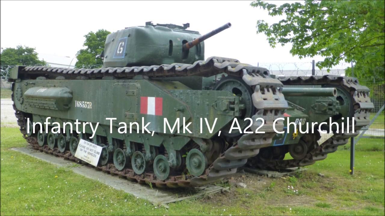 Churchill Infantry Tank & Variants