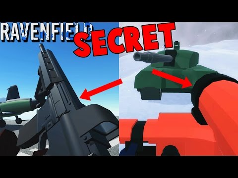Ravenfield SECRET Weapons!  OP Weapon Locations (Ravenfield Gameplay Hydra, HMG, Patriot & Air Horn)