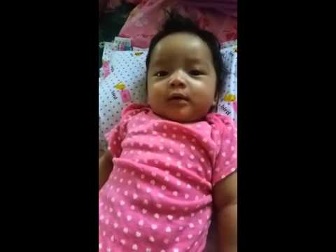 3 months old.. she just want to chat..