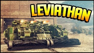Crossout - 25,000 POWERSCORE LEVIATHAN! (Crossout Leviathan Gameplay)