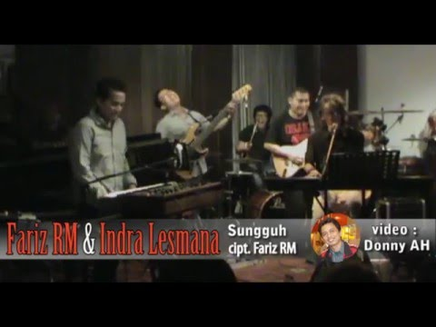 Fariz RM & Indra Lesmana - Sungguh @Red White Jazz Lounge (Donny A-Ha Collection)