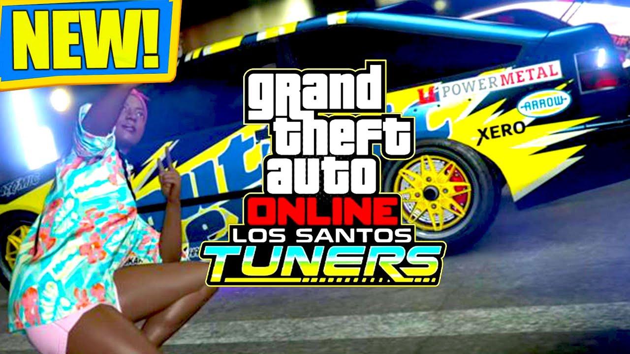 🔴 GTA Online Los Santos Tuners DLC! IT'S COMING SOON!