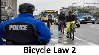 CAR vs BICYCLE: 10 More Laws You Didn't Know About Bicycles