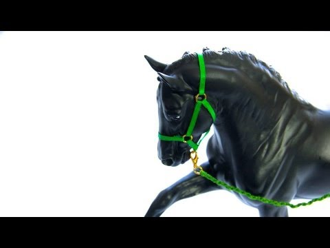 How To Make A Doll Horse Halter And Lead Rope - Doll Crafts