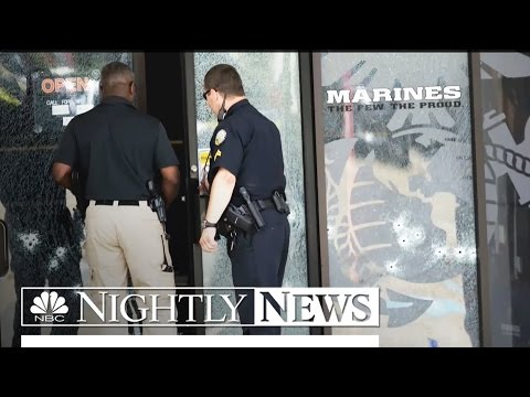 Four Marines Killed in Attacks on Chattanooga Military Facilities | NBC Nightly News