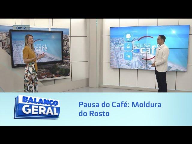 Pausa do Café: Moldura do Rosto