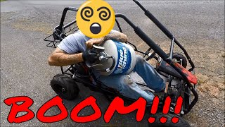 LEROY JR. GETS PROPANE INJECTION-THE QUEST FOR CARNAGE!
