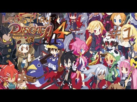 Disgaea 4 w/ Ledain   Chapter 1   Part 1: The Fated Day