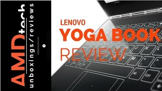 Lenovo Yoga Book (Android) Review:  The Future of Computing?