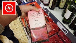 Wino w cenie energetyka | Ceny w Hiszpanii | Hiszpański Lidl