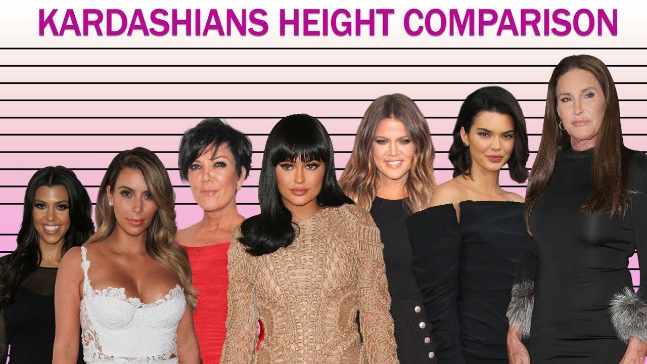 Who Is The Tallest Kardashian Jenner Sister 1