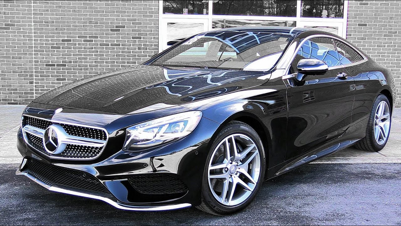 Superb 2016 Mercedes Benz S550 Coupe: Review   YouTube