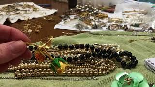 part 3 wrap up Vintage jewelry antique shop bag haul