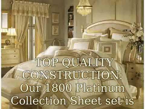 Luxury Bedding Sets - YouTube
