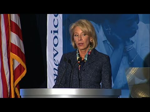 DeVos Defends Comments Made on 60 Minutes